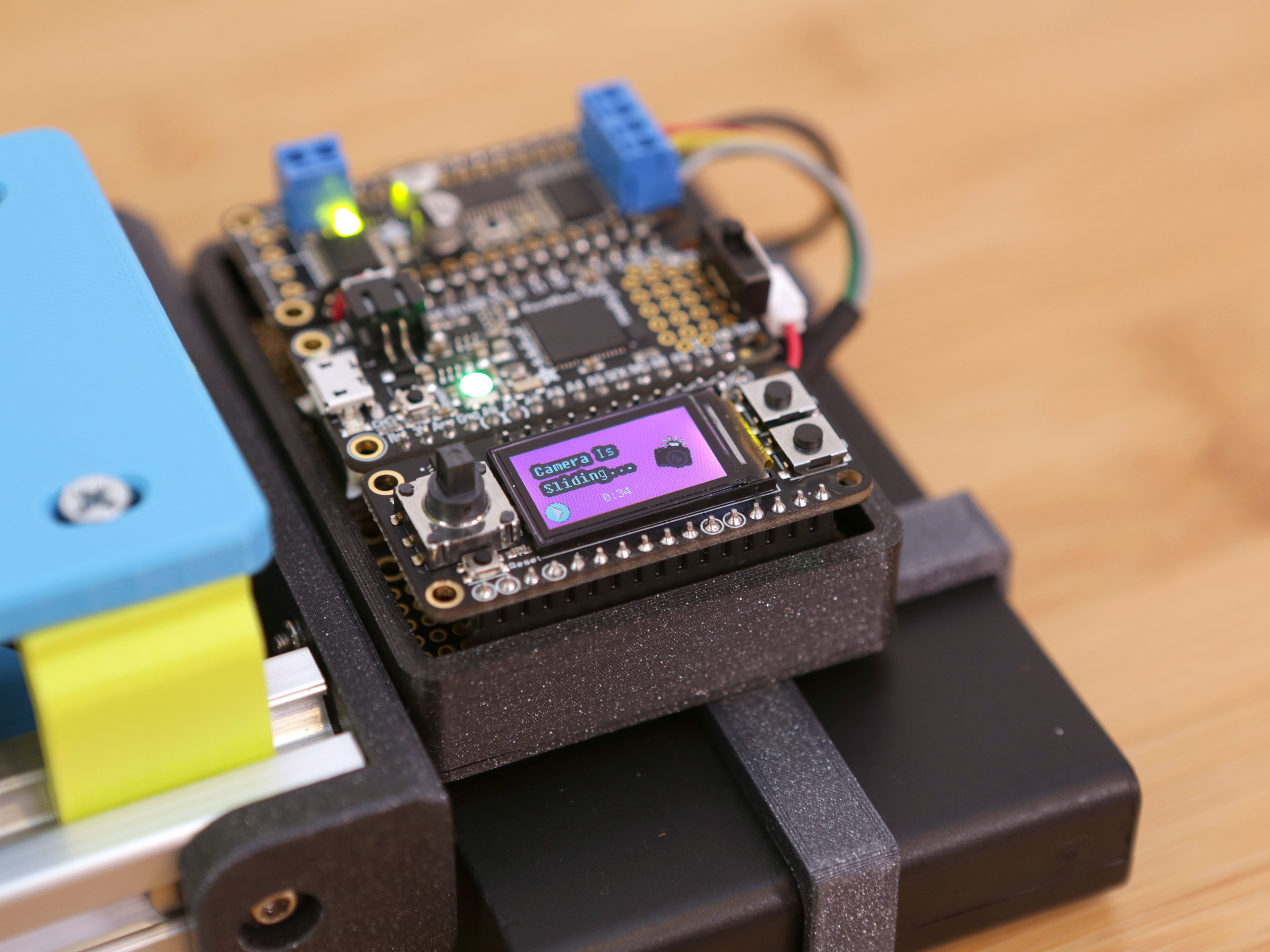 hero-display.jpg Download free STL file CircuitPython Camera Slider • 3D print design, Adafruit