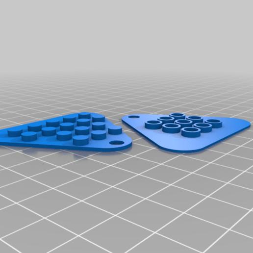 Lego-door-hook.png Download free STL file Neon Neopixel Strip Lego • 3D printable template, Adafruit