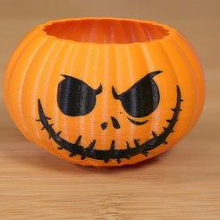 Free 3D print files Jack the Pumpkin King Dual Extrude, Adafruit