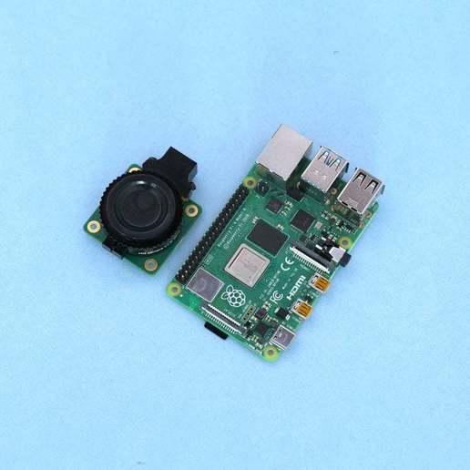 parts-crop.jpg Download free STL file Raspberry Pi HQ Camera Case • 3D print design, Adafruit