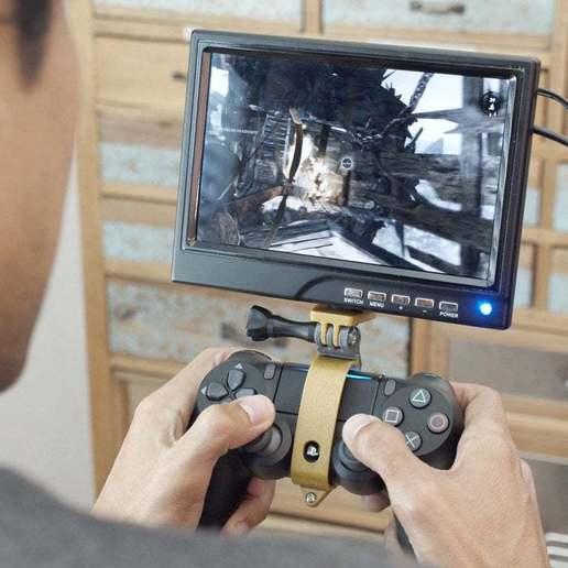 hero-game-alt.jpg Download free STL file PS4 Display Tripod Mount • Template to 3D print, Adafruit