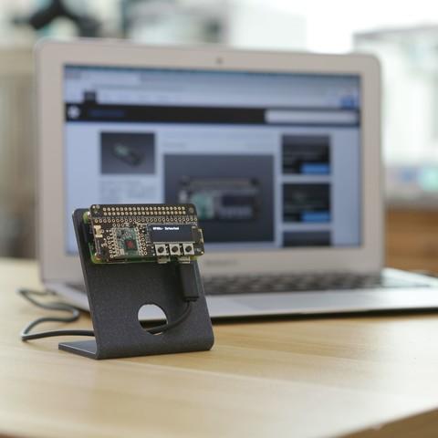 hero-laptop-angle.jpg Download free STL file Raspberry Pi Zero Stand • 3D printing object, Adafruit