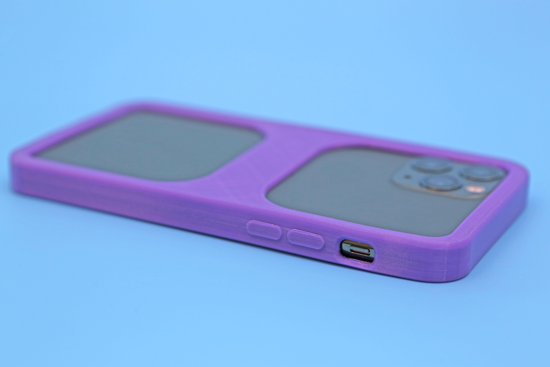 hero-close-power.jpg Download free STL file iPhone 11 Pro Bumper Case • 3D printer model, Adafruit