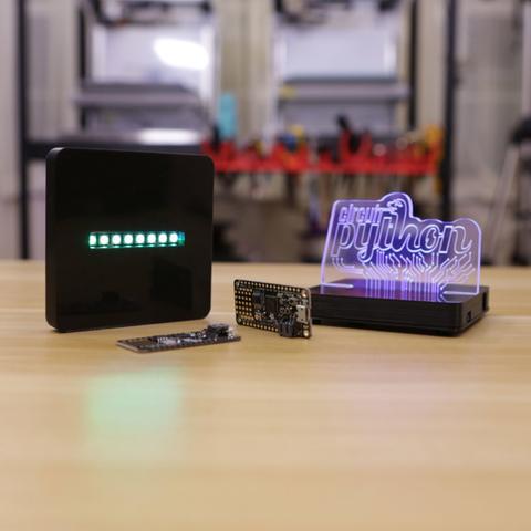 Capture d'écran 2017-09-01 à 10.48.44.png Télécharger fichier STL gratuit Signature acrylique LED avec Neopolis et Circuit Python • Objet pour impression 3D, Adafruit
