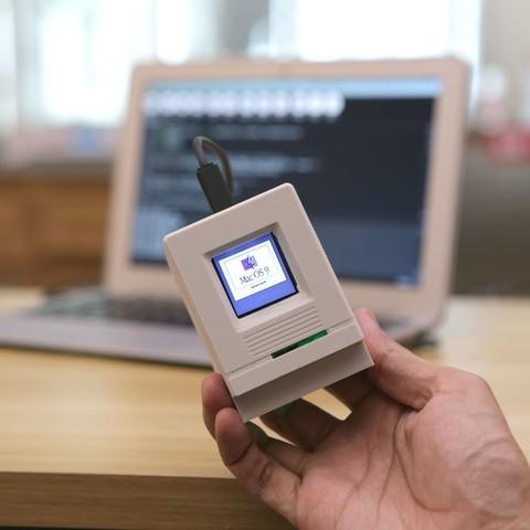 6d0f40bdbc76bafac4987f5d47bbdd13_display_large.jpg Télécharger fichier STL gratuit HalloWing Mac M0 • Modèle à imprimer en 3D, Adafruit