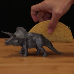 Download free 3D printing designs TriceraTaco, Adafruit