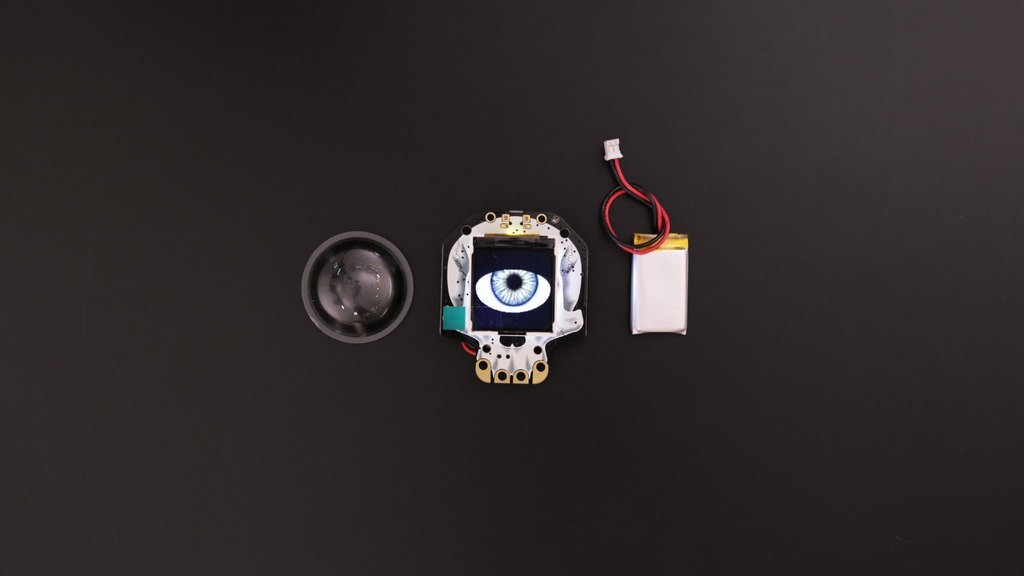 2f547b9f6f57d549a2a1515ab452c032_display_large.jpg Download free STL file HalloWing Eye Case • 3D printer object, Adafruit