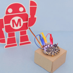 Download free 3D printing designs Makey Papercraft, Adafruit