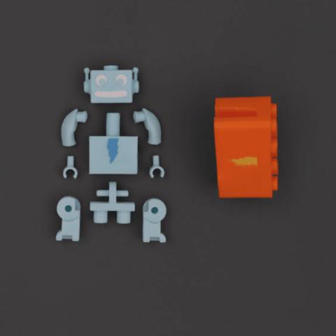 Capture d'écran 2018-03-29 à 10.04.24.png Download free STL file Webcam Cover-Up Lego brick with Adabot Mini Fig • 3D printable design, Adafruit
