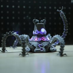 Free 3D printer designs Guardian Robot Hackable – Bottom Remix, Adafruit