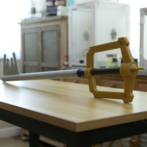 Free 3D printer files Yet Another Keyblade, Adafruit