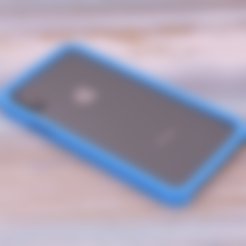 iphonex-bump-flex.stl Download free STL file iPhone X case • 3D print object, Adafruit