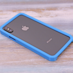 Diseños 3D gratis funda iPhone X, Adafruit
