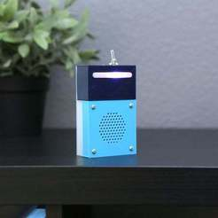 hero-box-shelf.jpg Download free STL file BLE Buzzy Box • 3D print model, Adafruit