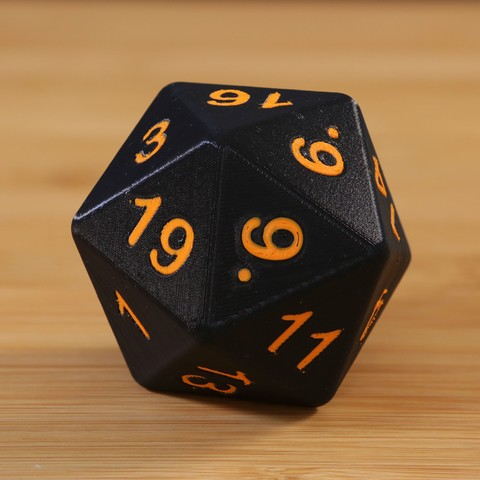Download free 3D model Dual D20, Adafruit