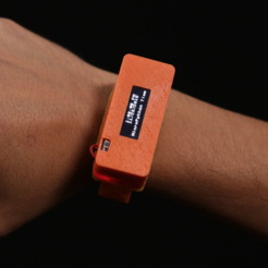Free 3D file OLED MircoPython Watch, Adafruit