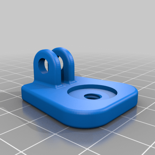 ps4-plate.png Download free STL file PS4 Display Tripod Mount • Template to 3D print, Adafruit