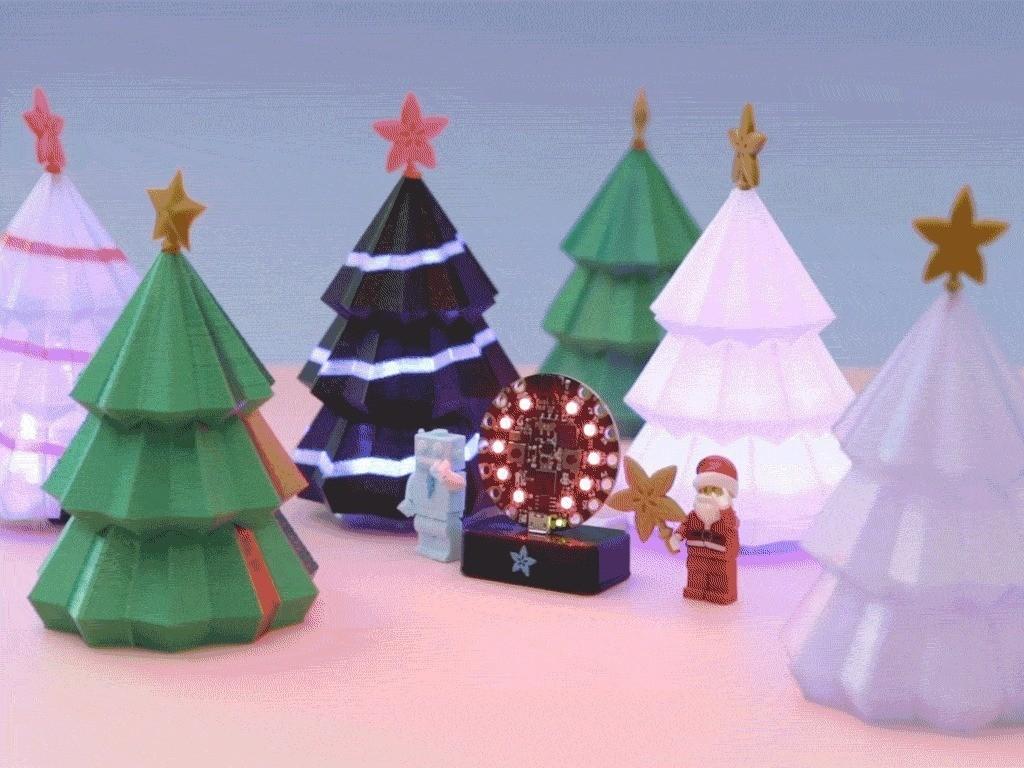 7a144b528284093bb1a1eec4b7d68095_display_large.jpg Download free STL file Christmas Tree for Circuit Playground • 3D printer model, Adafruit