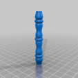 mini_spindle.png Download free STL file LED Matrix Hourglass Physics Sand Toy • Object to 3D print, Adafruit
