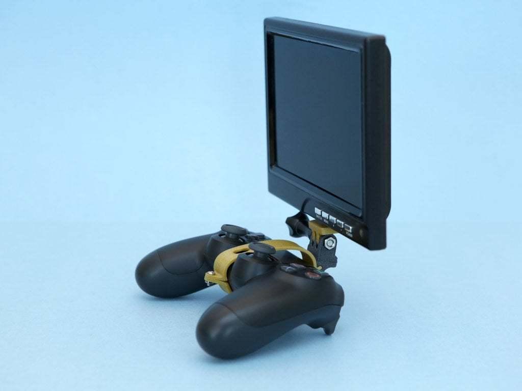 hero-angle.jpg Download free STL file PS4 Display Tripod Mount • Template to 3D print, Adafruit