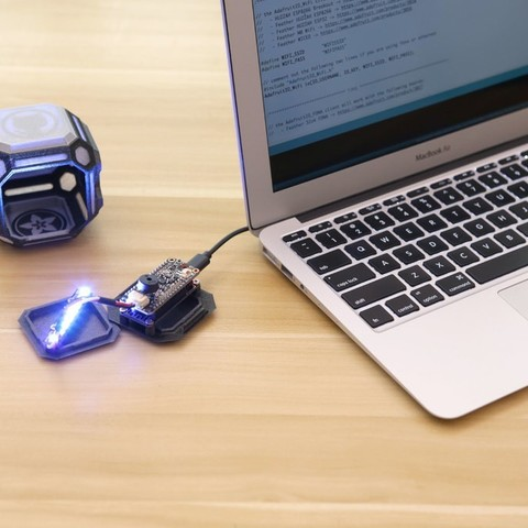 bacb83eba3b5cdb67ff2c89a5aa58af4_display_large.jpg Download free STL file Time Tracking Cube • 3D print design, Adafruit