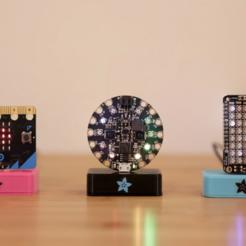 Télécharger objet 3D gratuit Micro USB Dock, Adafruit