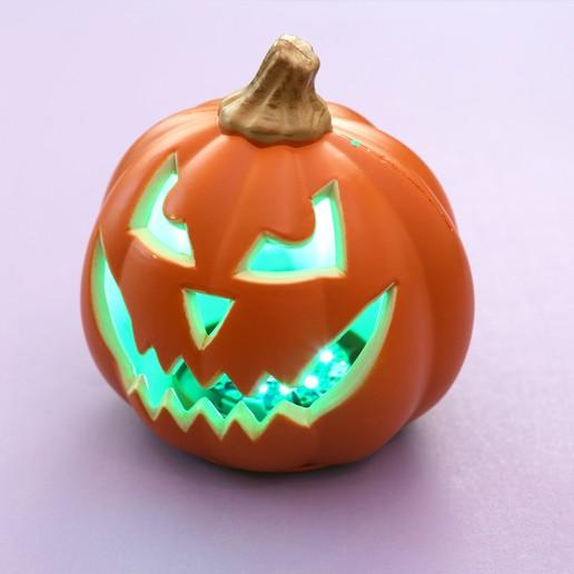 hero-green.jpg Download free STL file Talking Pumpkin with Lights and Sounds • 3D print model, Adafruit