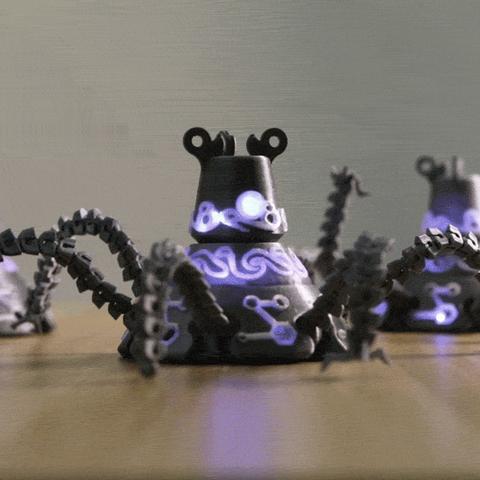 Capture d'écran 2017-07-19 à 18.58.27.png Download free STL file Guardian Robot Hackable – Bottom Remix • 3D print object, Adafruit