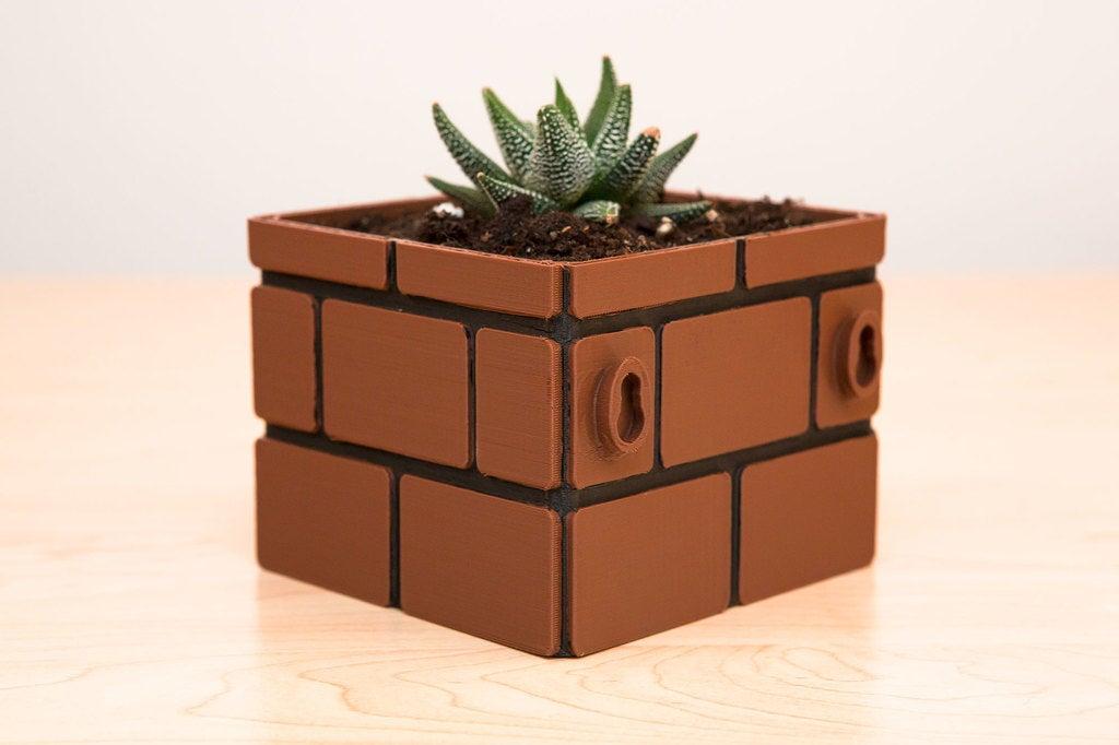 76d37a84415ab7db156c4d93263ffa66_display_large.jpg Download free STL file Mario Brick Planter • 3D print design, Adafruit