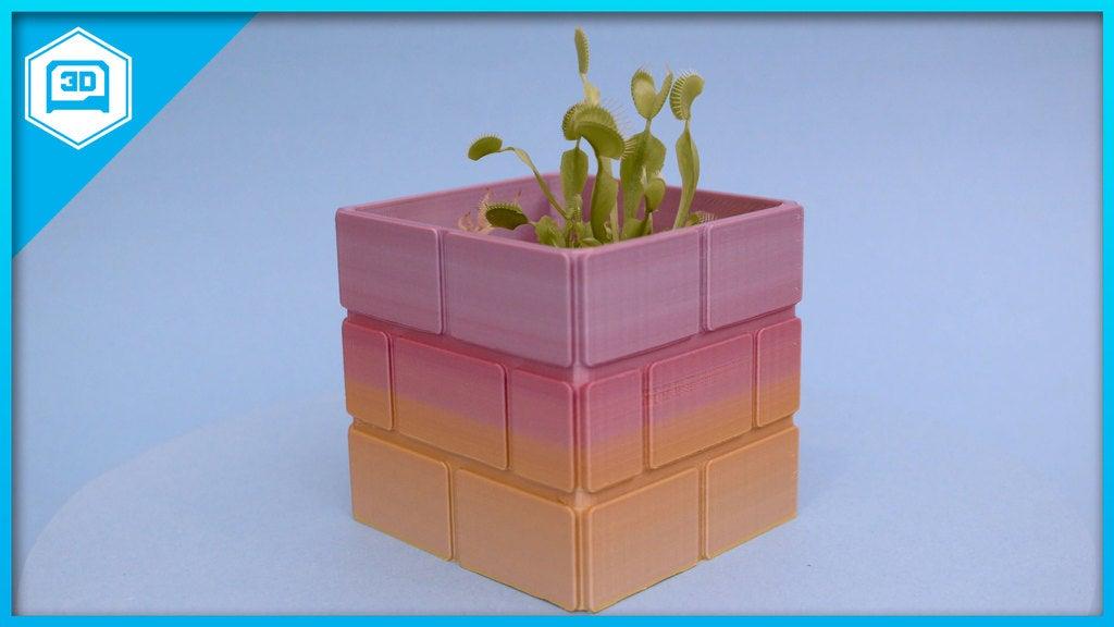 2b81a8c17a450fac859b34a9ef4f9225_display_large.jpg Download free STL file Mario Brick Planter • 3D print design, Adafruit