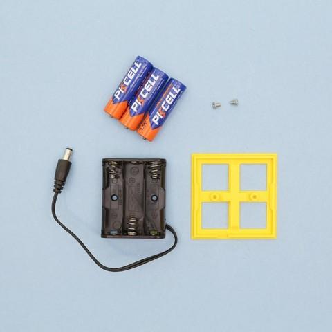76691edfe49a66d25768044592897a34_display_large.jpg Télécharger fichier STL gratuit Étui à piles compatible LEGO • Design pour imprimante 3D, Adafruit
