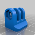 ps4-knuckle.png Download free STL file PS4 Display Tripod Mount • Template to 3D print, Adafruit