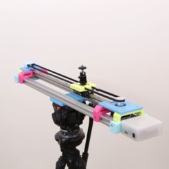 Free 3D printer files Motorized Camera Slider MK3, Adafruit