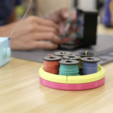 Download free 3D model Wire Spool Holder Carousel, Adafruit