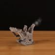 Free STL Gnomedozer, Snap-fit Model, Adafruit