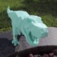 STL Bajo-poli t-rex, Adafruit