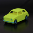 Download free STL file Multi-color Car Model • 3D print template, Adafruit