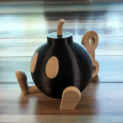 Download free 3D printer designs Bob-Omb! Multi Color/Material, Adafruit