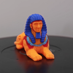 Download free 3D printing designs Multi-color Sphinx, Adafruit