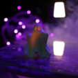 Free 3D printer files Cute Hug Me Ghost, Adafruit