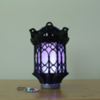 Download free STL file Gothic Lantern • 3D printing model, Adafruit