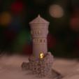 Free STL Forbidden Watchtower, Adafruit