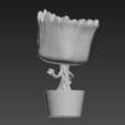 Download 3D printer templates Gruu plant pot , tridimagina