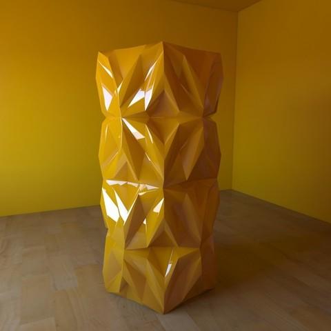 06.jpg Download free STL file Geometric Vase • 3D printable object, tridimagina