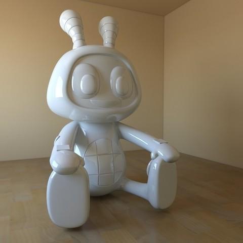 beatboo01.jpg Download STL file BEATBOO • 3D printable design, tridimagina