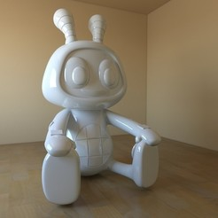 3D printer models beatboo boguie, tridimagina
