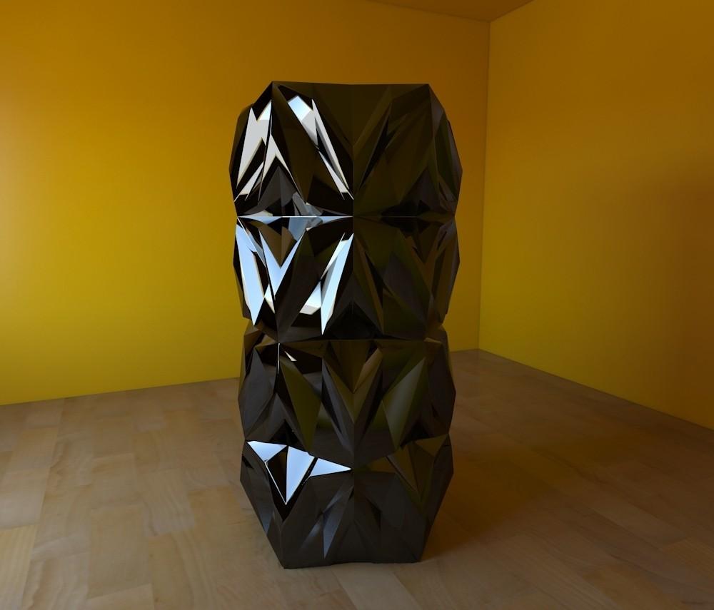 04.jpg Download free STL file Geometric Vase • 3D printable object, tridimagina