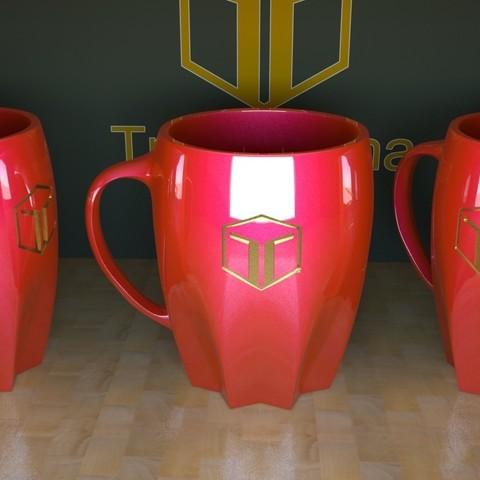 Télécharger fichier imprimante 3D gratuit Tasse à café, tridimagina