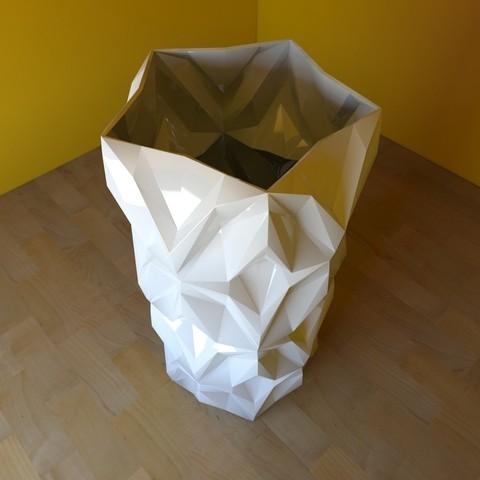 02.jpg Download free STL file Geometric Vase • 3D printable object, tridimagina