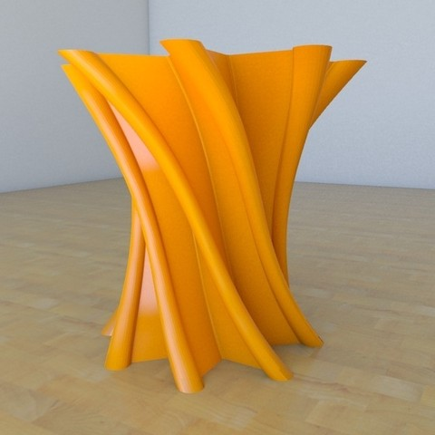 vase1-02.jpg Download free STL file twist Star Vase • Model to 3D print, tridimagina